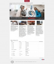 Miele Website
