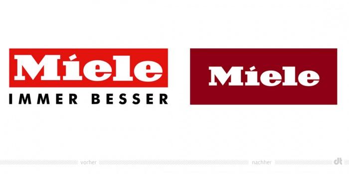 Miele Logo – vorher und nachher
