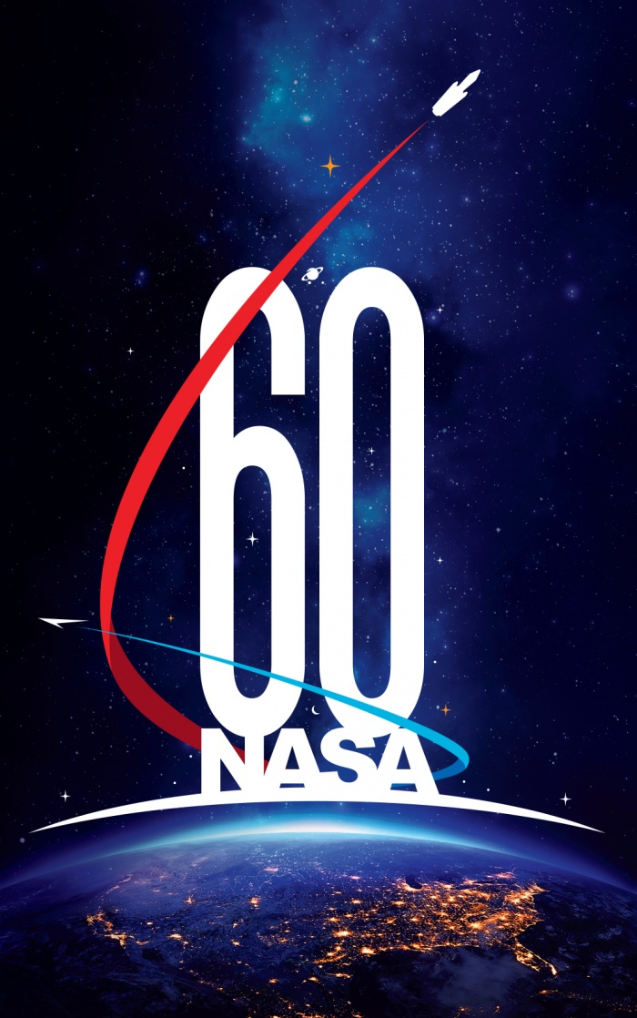 NASA 60th Logo