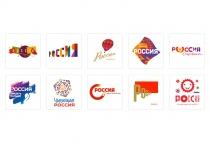 Russia Tourism Brand Logo Designs