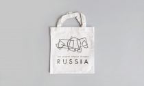 Russland Tourismus Brand