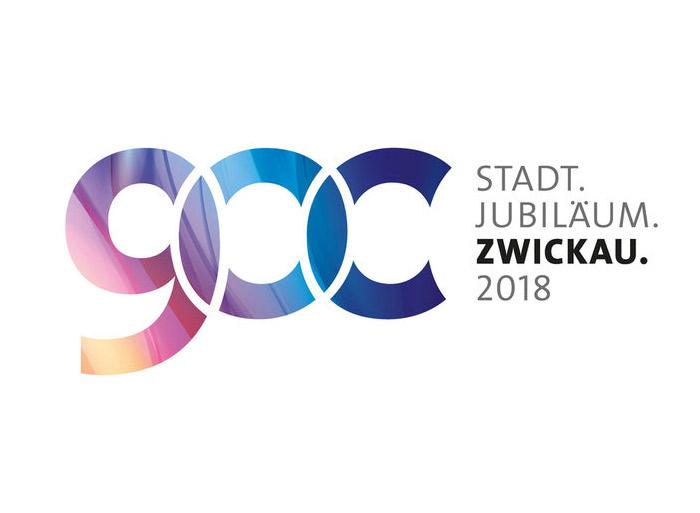Logo zur 900-Jahrfeier der Stadt Zwickau