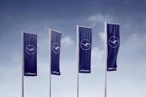 Lufthansa Fahnen