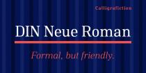 DIN Neue Roman