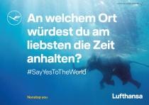 Lufthansa Design Anzeige