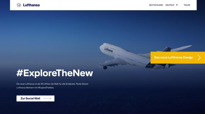 Lufthansa #Explorethenew