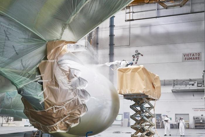 Lufthansa Lackierung Sneak Preview