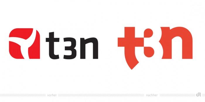 t3n Logo – vorher und nachher