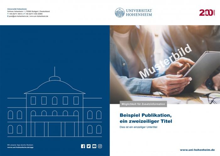Universität Hohenheim Broschüre