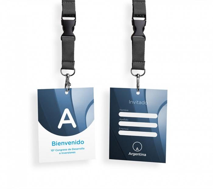 Argentina Brand Design Card