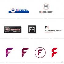 Flyeralarm Logoevolution