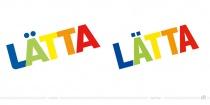 Lätta Logo – vorher und nachher