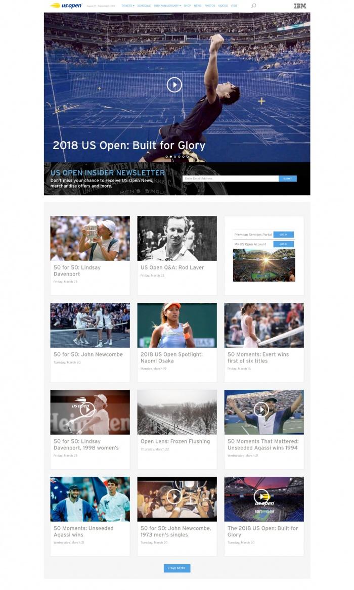 US-Open Website
