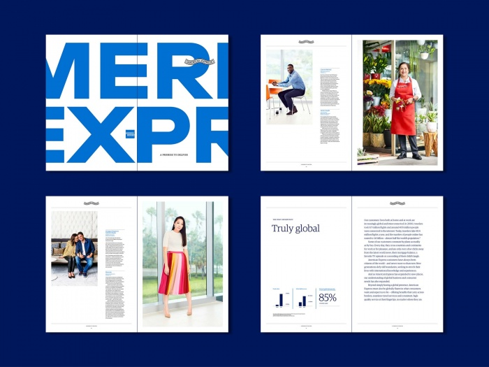 American Express – Corporate Design