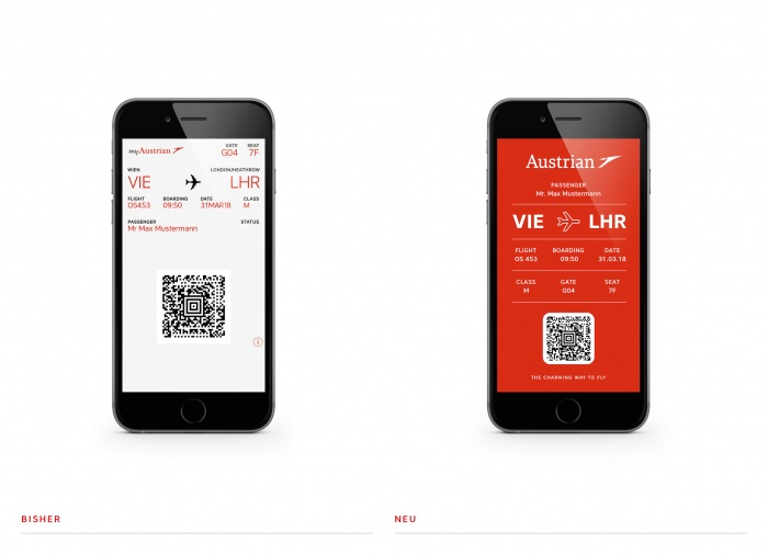 Austrian Airlines Ticket