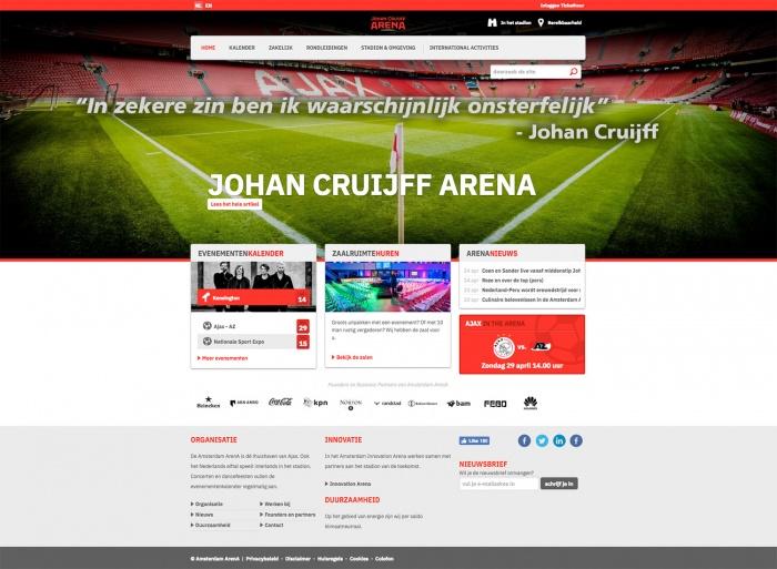 Johan Cruijff Arena Website
