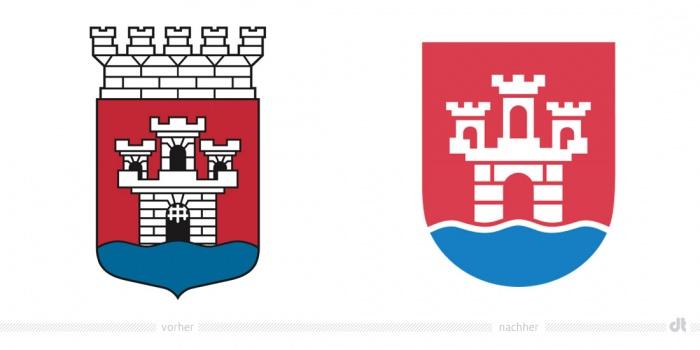 Jönköping Logo – vorher und nachher