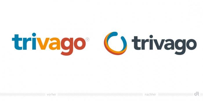Trivago Logo – vorher und nachher