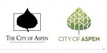 City of Aspen Logo – vorher und nachher