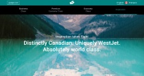 WestJet Website