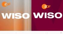 ZDF WISO Logo – vorher und nachher