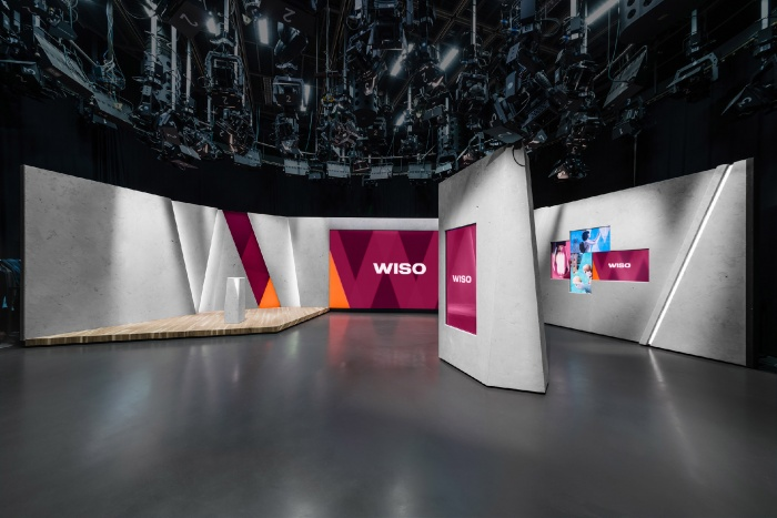 ZDF WISO Set-Design