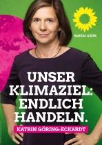 Bundestagswahl 2017 Plakat Bündnis 90/Die Grünen