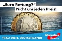 Bundestagswahl 2017 Plakat AfD, Europa