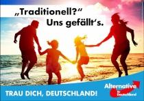 Bundestagswahl 2017 Plakat AfD, Familie