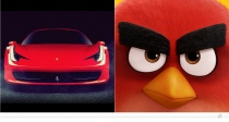 Ferrari 458 – Red (Angry Birds)