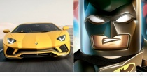 Lamborghini Aventador S – Batman (The LEGO Batman Movie)