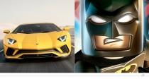 Lamborghini Aventador S – Batman (The LEGO Batman Movie)