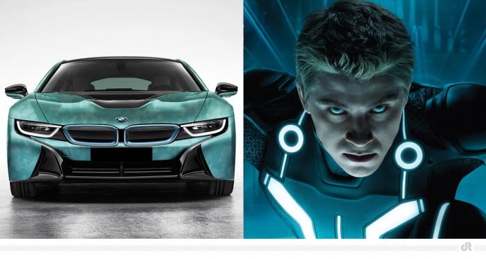 BMW i8 – Sam Flynn (Tron Legacy)