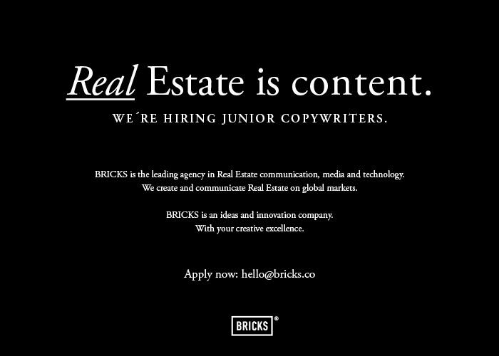 BRICKS Junior Copywriter