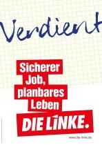 Bundestagswahl 2017 Plakat DIE LINKE