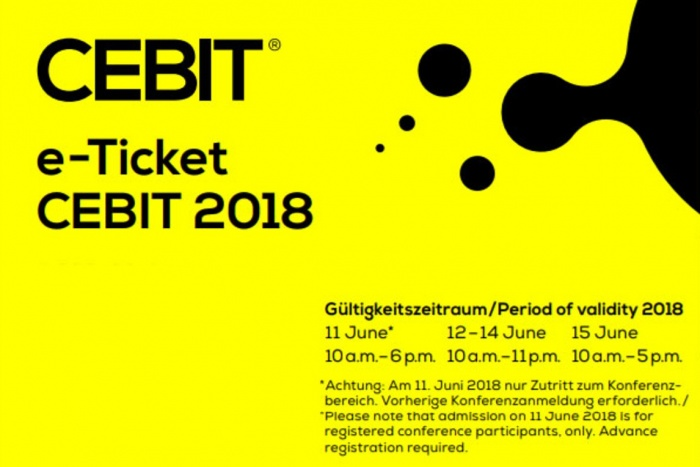 CEBIT Ticket