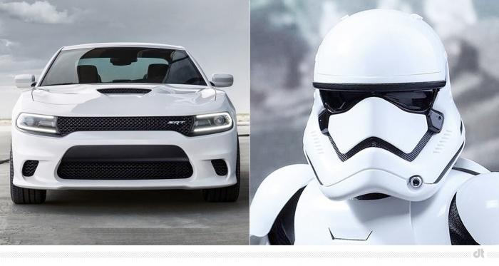 Dodge Charger SRT Hellcat – Stormtrooper