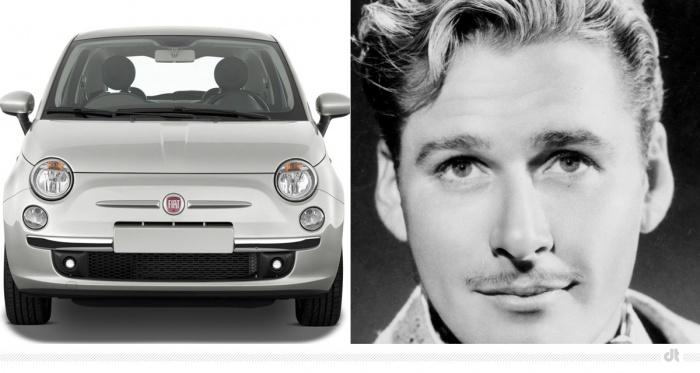 Fiat 500 – Errol Flynn