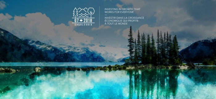 G7 Gipfel 2018 La Malbaie / Charlevoix Logo