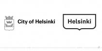 Helsinki Logo – vorher und nachher