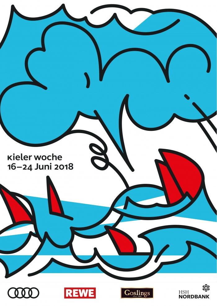 Kieler Woche Plakat 2018