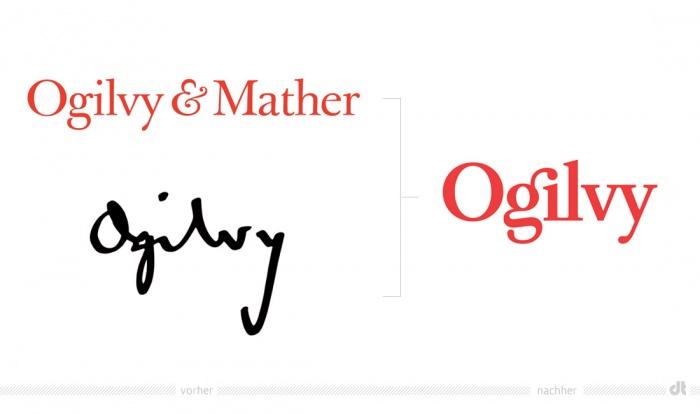 Ogilvy Logo – vorher und nachher