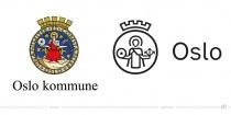 Oslo Logo – vorher und nachher
