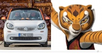 Smart ForFour – Mantress (Kung Fu Panda)