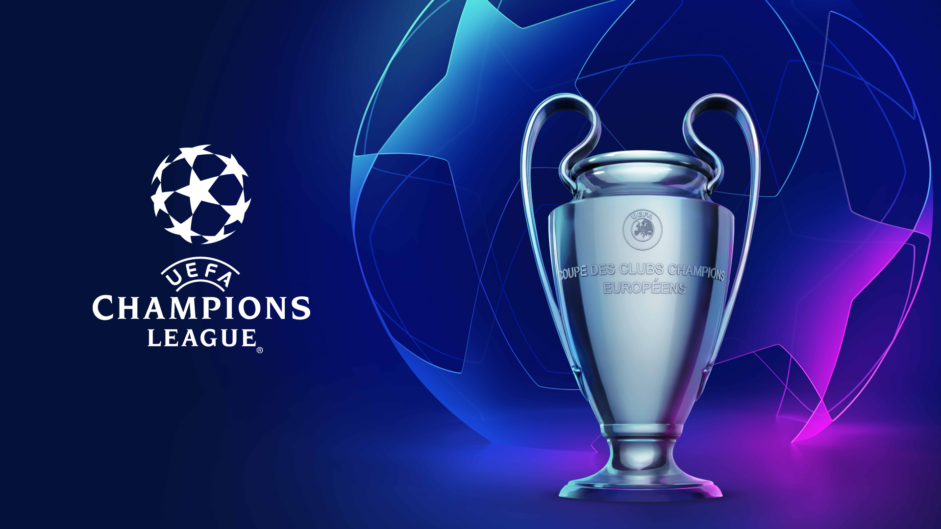 UEFA Champions League – KeyVisual Starball Trophy