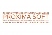 Vancouver Tourism Brand Typography
