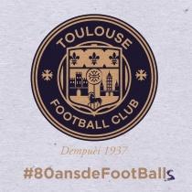 Toulouse FC Jubiläumslogo
