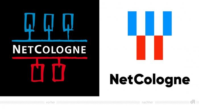 NetCologne Logo – vorher und nachher