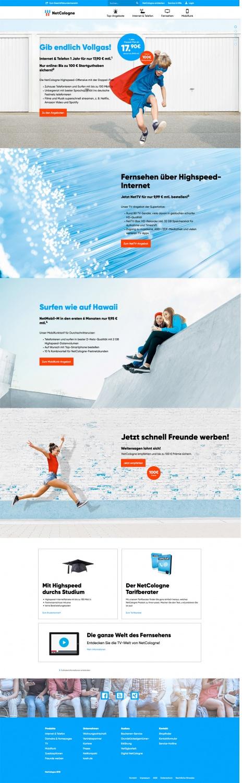 NetCologne Website