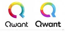 Qwant Logo – vorher und nachher